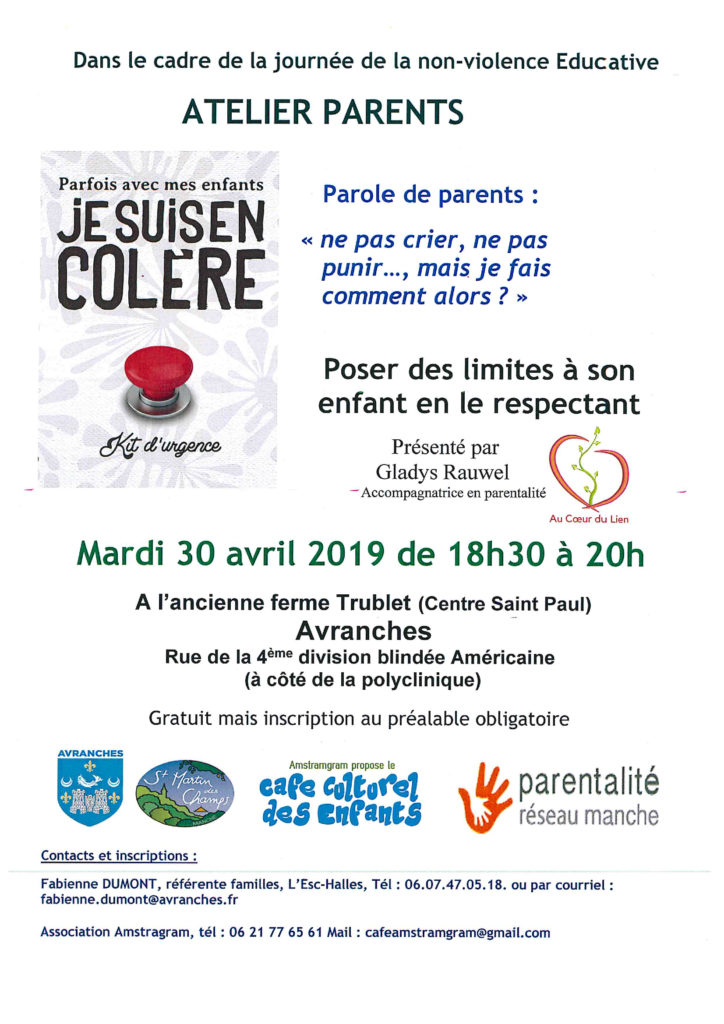 Atelier parents au coeur du lien
